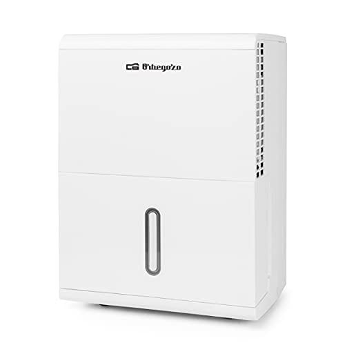 Orbegozo DH 1040 - Deshumidificador, 10 litros/día, Refrigerante R290, Ajuste manual humedad, 40 m2, 200 W