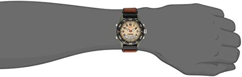 Timex Men's T45181 Expedition Resin Combo Brown/Green Nylon Strap Watch WeeklyReviewer
