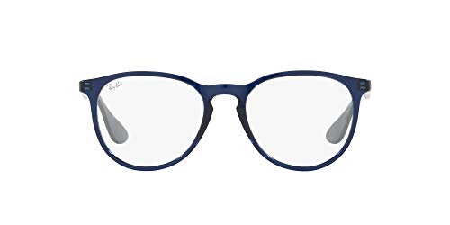 Ray-Ban 0RX7046 Gafas, TRANSPARENT BLUE, 51 Unisex Adulto