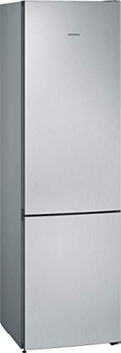 Siemens KG39N2LEA iQ300 Freistehende Kühl-Gefrier-Kombination / A+++ / 273 kWh/Jahr / 366 l / hyperFresh Frischesystem / noFrost / LED-Innenbeleuchtung / superCooling, 203(H) x 60(B), Edelstahl-Look