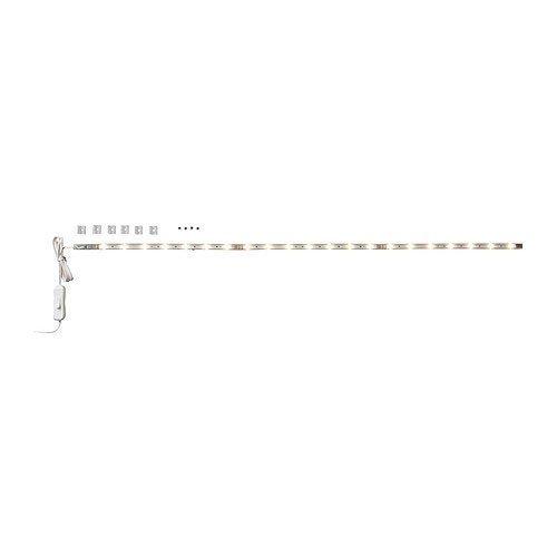IKEA LEDBERG -LED 3- Stück -Lichtleiste weiß gesetzt