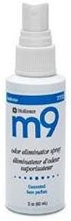 m9 Odor Eliminator Spray, Unscented 2 oz (Pack of 2)