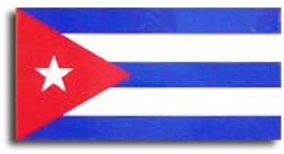 キューバ 国旗 ステッカー ( 屋内 ・ 屋外 用 防水 シール ) (2S 約50mmx25mm)