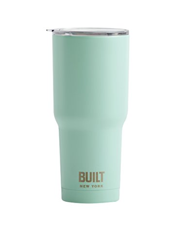 Built NY Double Wall Stainless Steel Vacuum Insulated Tumbler, 30-Ounce, Mint