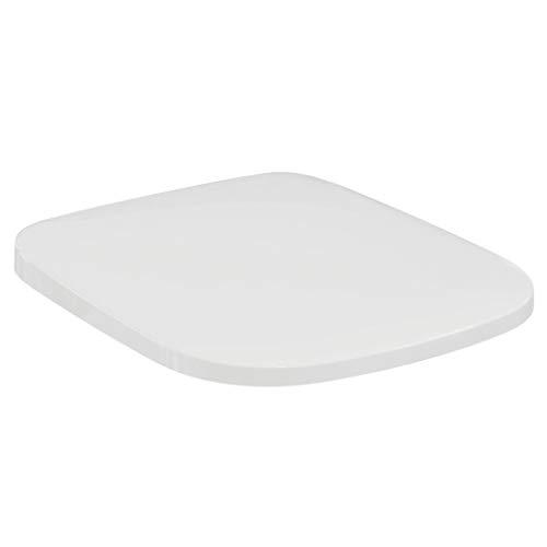 Ideal Standard T318101 Original Slim Toilettensitz Serie Esedra New, Absenkautomatik, Weiß