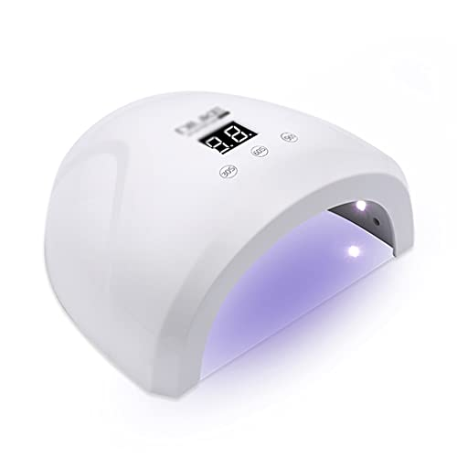 ACGTH 36W LED Lámpara UV Secadora de uñas para Curar Gel Polish Tool Tool Light Fingernail Temporizador Temporizador Máquina de Clavos