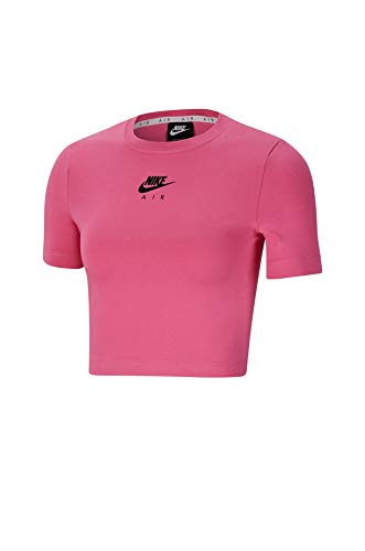 Nike - NSW Air Top SS Crop col 684 CU5562 Rosa S