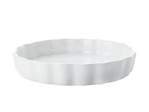 Maxwell & Williams White Basics Plat à tarte en porcelaine 13 cm