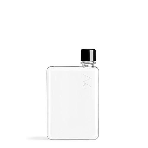 Memobottle A6 375ml ORIGINALE M001 - Botella de agua, color fabricada de plástico sin BPA - Memo reciclado reutilizable