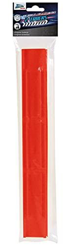 Darda Lot de 2 Rails de Circuit de Course 2 éléments Installer dans Toutes Les Pistes de dard, pour Enfants à partir de 5 Ans, 50472, Jaune