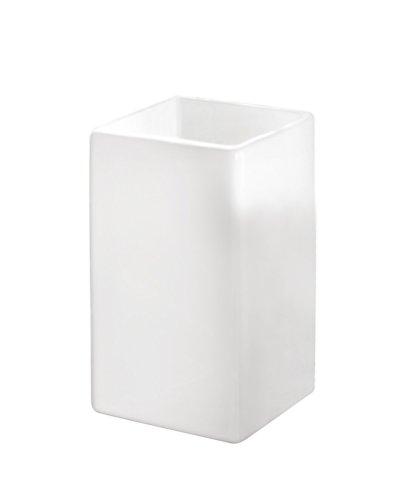 Kleine Wolke 5045 114 852 - Bicchiere portaspazzolini, Colore: Bianco