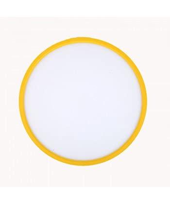 TALOYA - Lampada da soffitto colore giallo 24 W, luce calda 3000 K