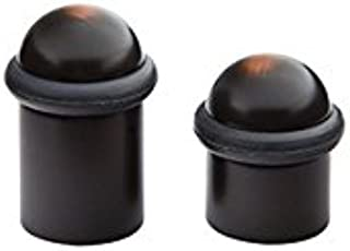 Emtek Cylinder Floor Bumper with Dome Cap 2 size options and 5 finish options (2