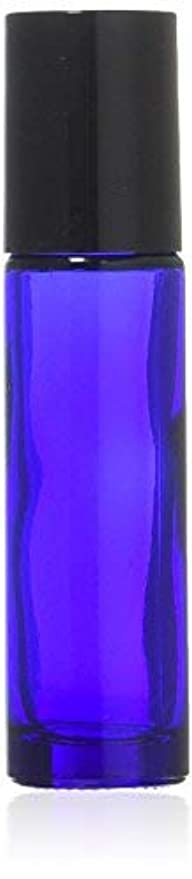 軍艦混沌とにかくTrue Aroma, 24 pcs, 10ml Cobalt Blue Glass Roller Bottles with Stainless Steel Roller Ball for Essential Oil - Includes 24 Pieces Labels, Essential Oils Opener, 3 Droppers (24pc Cobalt Blue Set) [並行輸入品]