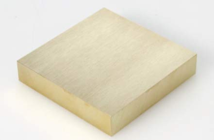 伸銅 真中 切板 板厚 10mm 250mm×860mm