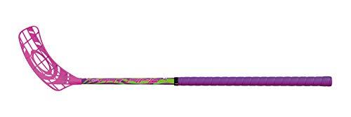 Fat Pipe Floorball Schläger Unihockey Stock Venom 34 Kids, Pink '20 (Schaftlänge 70 cm, für Rechtshänder, rechte Hand Oben am Schläger, sogenannter Linksausleger)