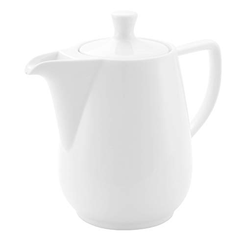 Friesland Kaffeekanne 1,4l Weiß Porzellan