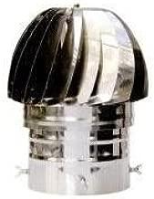 Sombrero giratorio para tubos de 160 a 210 mm en Inox Aisi 304 ...