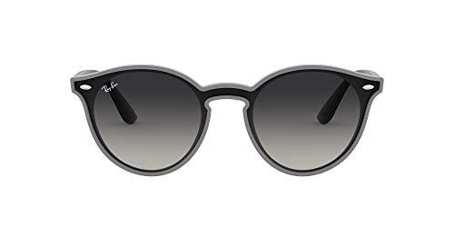 Ray-Ban 0RB4380N Gafas de Sol, Grey Demi Shiny, 40 Unisex
