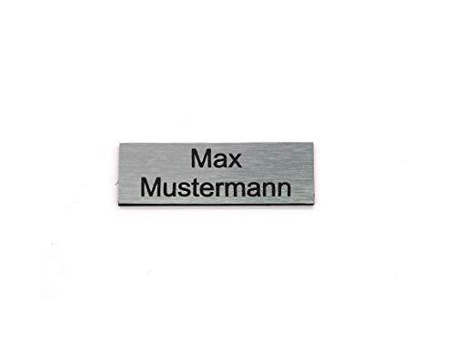 Letrero de buzón Placa de identificación Placas de identificación Etiquetas de buzón Grabado Autoadhesivo | Resistente a la intemperie | Grabado láser | Tamaños 60x20mm y 80x35mm (6x2cm)