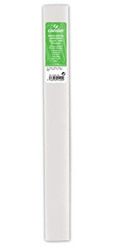 Rollo 50x250 cm, Canson Crespón Estándar 32g, Blanco
