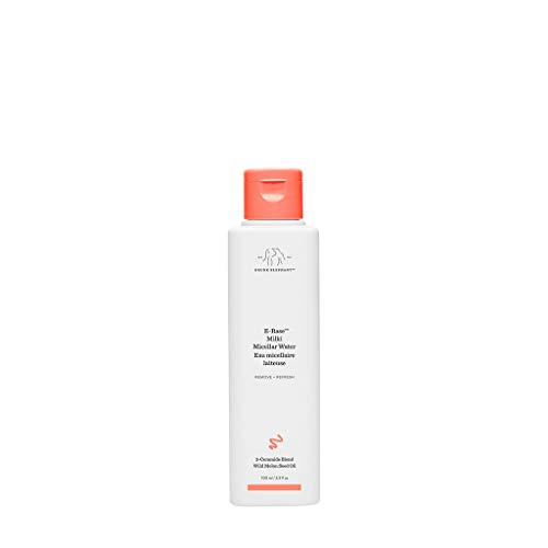 Drunk Elephant E-Rase Milki Micellar Water– Ultra Mild Formula to Gently Remove Makeup and Bacteria. (100 mL)