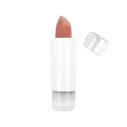 Zao Recharge Soft Touch Rouge à lèvres 433Nude Beige mat Recharges (Bio, vegan) 111433