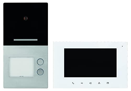 Villa 2 WE - Videoportero automático (montaje en pared, 22 mm, pantalla táctil TFT de 17,8 cm)