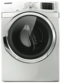 DV501AEW 7.5 Cu. Ft. Stackable Electric Dryer With Steam Drying Technology Stainless Steel Drum & 13 Preset Drying