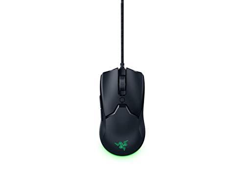 Razer Viper Mini - Ultra light Gaming Mouse (Ultraleichte beidhändige Gamer Maus mit 61g Gewicht, Speedflex-Kabel, optischer 8.500 DPI Sensor und RGB Chroma Beleuchtung)