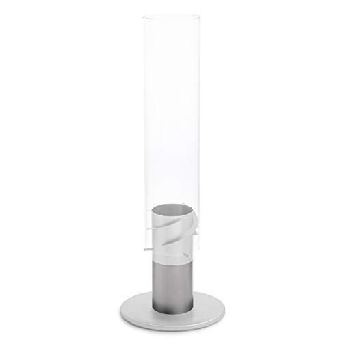 höfats - Spin Erhöhung 120 Grau - erhöht Bioethanolkamin Spin um 11cm - aus Edelstahl - nur für Outdoor-Gebrauch - Zubehör für Spin Ethanolkamin