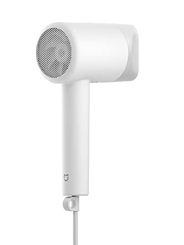 Xiaomi Mi Ionic Hair Dryer H300 Secador de pelo de secado rápido, diseño compacto y portátil, control de la temperatura inteligente, blanco, versión italiana