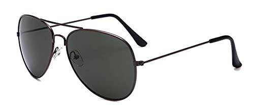 Secuos Moda Gafas De Sol De Espejo A Estrenar Hombres Mujeres Pilotos Gafas De Piloto Uv400 Lente Espejada Gafas De Sol Verde