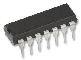 IC, 4000 CMOS, 4013, DIP14, 18 V CD4013BE By Texas instrumenten.
