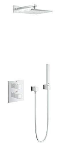 GROHE Grohtherm Cube | Thermostat - Duschsystem mit Thermostatbatterie und Kopbrause | chrom | 34506000