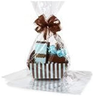 BundleOfBeauty Item# GH1830A 10pack Clear Cello/cellophane Bags Gift Basket Packaging Bags Flat- 18 X 30