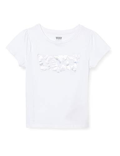 Levi's Kids LVG SS Baby Tee C717 T-Shirt, White, 10 Ans Girls