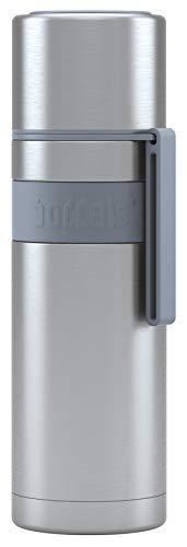 boddels Isolierflasche HEET 500 ml - Deine Thermoskanne für unterwegs (Hellgrau)