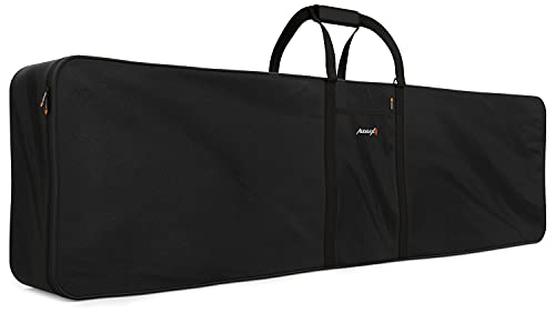 AUDIBAX | Onyx Bag 88 Plus Funda para Teclado - Protector para Teclado o Piano de 88 Teclas - Adaptable a la Mayoría de Marcas y Resistente al Agua - Medidas: 41 x 147 x 19 cm