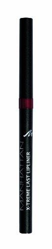 Manhattan X-Treme Last herausdrehbarer Lipliner, Intensive Farbe & definierter Halt, Farbe Love Mulberry 46N, 1 x 0,2g