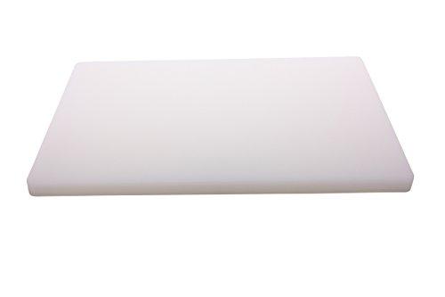 TAMLED Schneidbrett weiß 60x40x3 cm extrastark