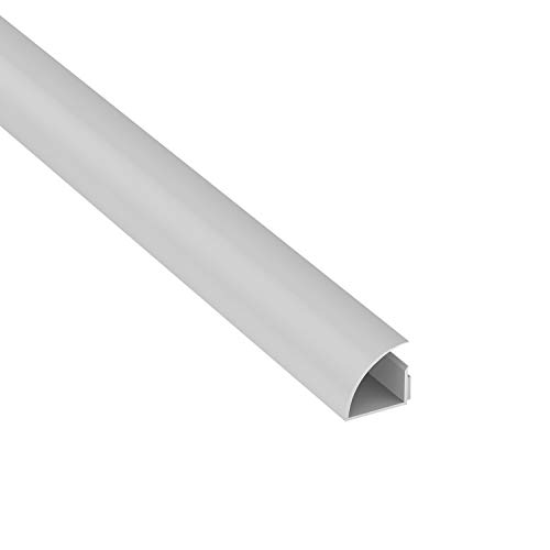 D-Line 1MCT2222W Kabelkanäle Quadrant (22x22mm) Weiß