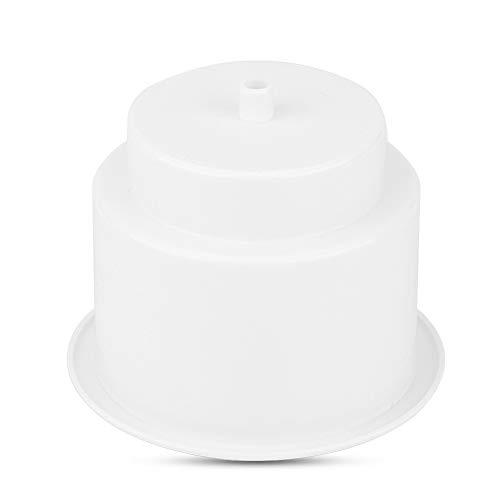 EBTOOLS Plastic Cup Houder, Marine RV Boot Jacht Universele Drink Cup Fles Kan Houder Met Insert Drain Gat default Kleur: wit
