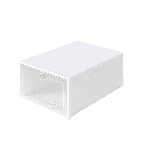 Dabeigouzxiej organizador armario, Zapato estante grueso caja caja de almacenamiento caja transparente zapato gabinete de zapatos artefacto almacenamiento cajón cajón caja de almacenamiento plástico s