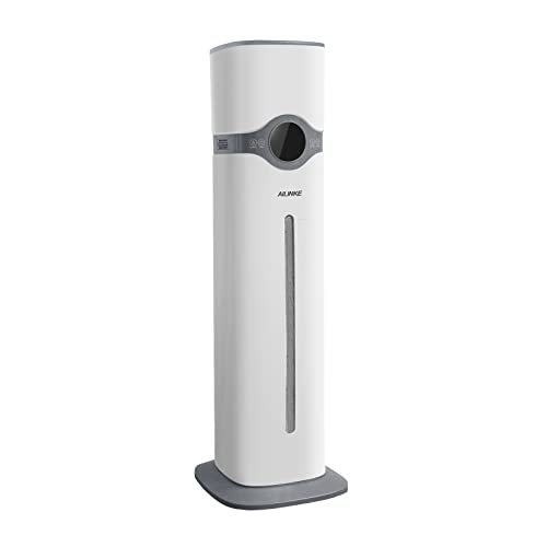 Ultrasonic Humidifiers for Bedroom, Large Room, Home, Top Fill Humidifiers Quiet, Cool Mist Humidifiers of Large Tank Capacity (9L/2.3Gal) for 36 Hours Humidification, 300mL/H Max Mist Output