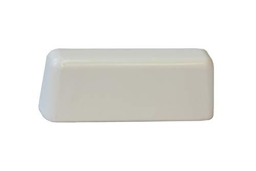 Roto TS9931 - Tapa para ranura de agua, color blanco