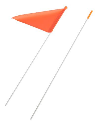 Fiximaster 2 Teilig Fahrrad Sicherheitsfahne/Wimpel, Farbe Orange,Neu