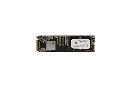VisionTek 1TB PRO XMN M.2 NVMe Internal Solid State Drive with 3D NAND Technology for Desktop Computers, Laptops and Mac Systems (901304)