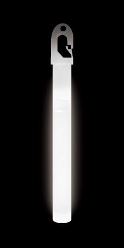 Survival School Lumica - Barra de luz de Grado Militar (6 cm), Color Rojo