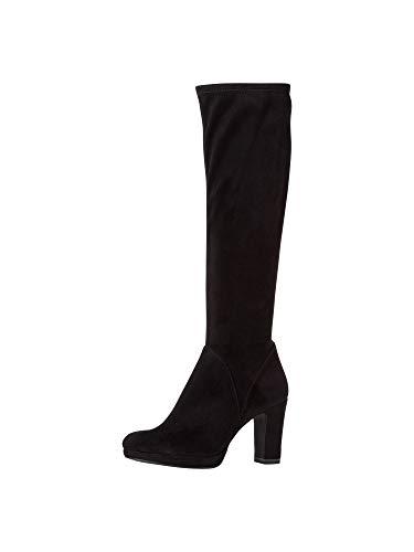 Tamaris Damen Stiefel 1-1-25522-25 001 weit Größe: 39 EU
